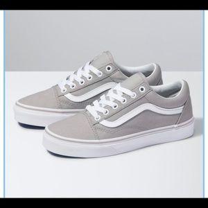 Old Skool skate vans gray